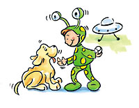 Dog with Martian