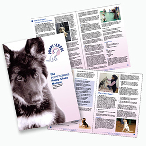 Puppy School Leaflets and books