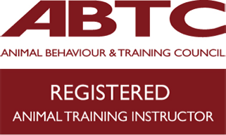 Animal trainer instructor logo
